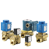 Danfoss Solenoid Valves - Spare Parts Kits and Coils